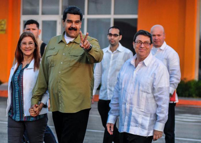 Concluye visita oficial a Cuba el Presidente de Venezuela