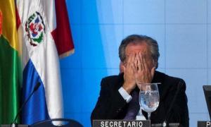 Almagro, como secretario general de la oea, tuvo una actitud pasiva respecto a la crisis política hondureña. Foto tomada de twitter