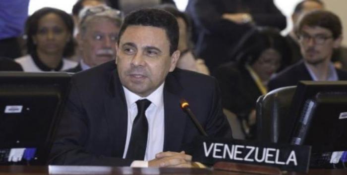 Samuel Moncada, embajador venezolano ante la OEA