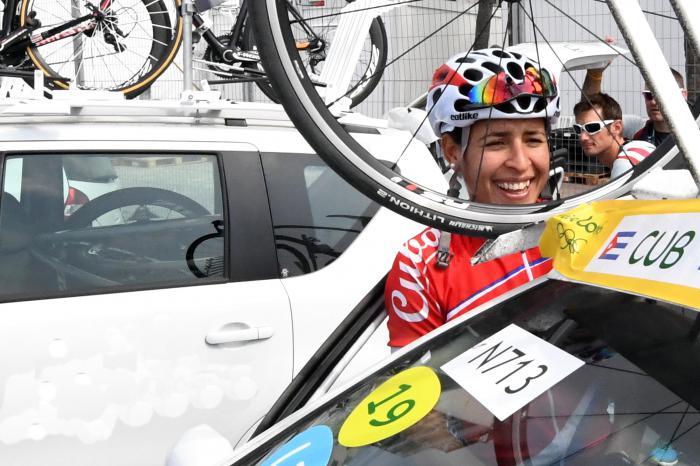 Rio Ciclismo Ruta F Arlenis Sierra, arrancada de la carrera,  vistas y fanaticos del ciclismo mundial.