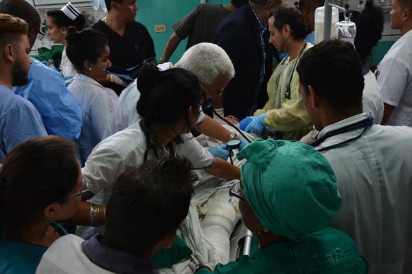 Expresan colaboradores cubanos sus condolencias por accidente aéreo