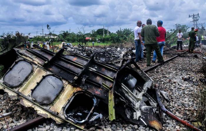 Cuba ofrece nueva información sobre cajas negras de avión accidentado