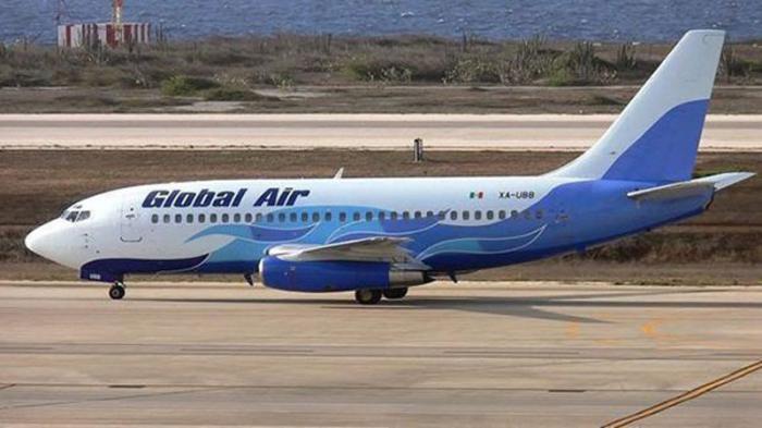 avion de compañia mexicana