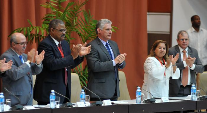 Presidente cubano participa en inauguración de Encuentro Internacional Justicia y Derecho 2018 (+ Fotos)