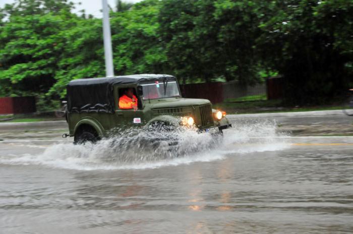 Gradual mejoría de las condiciones del tiempo en centro y occidente Cuba