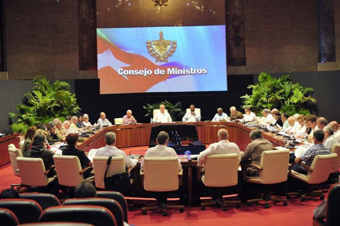 Council of Ministers Cuba..