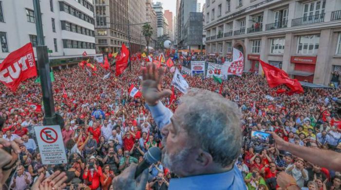 El respaldo a Lula ha tenido un carácter masivo.