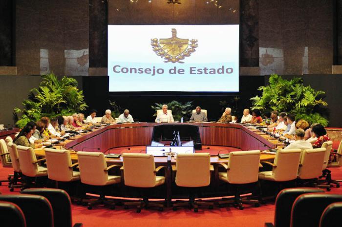 Sesionó reunión del Consejo de Estado
