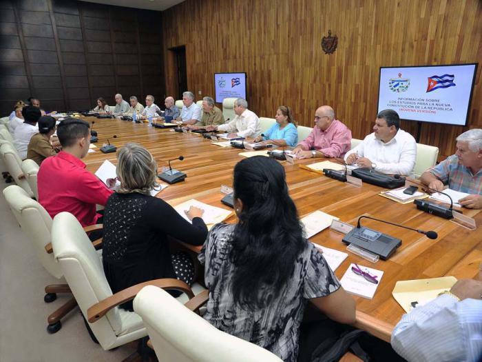 Comenzaron sesiones de trabajo de la Comisión que redactará el Anteproyecto de Constitución