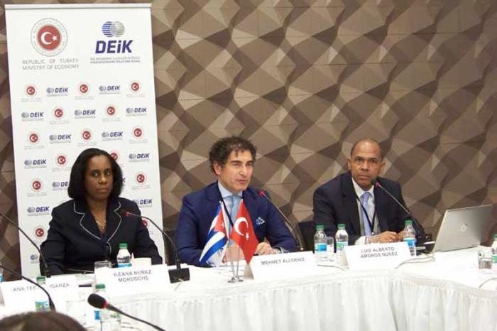 cuba presenta oprtunidades de inversiones en turquia