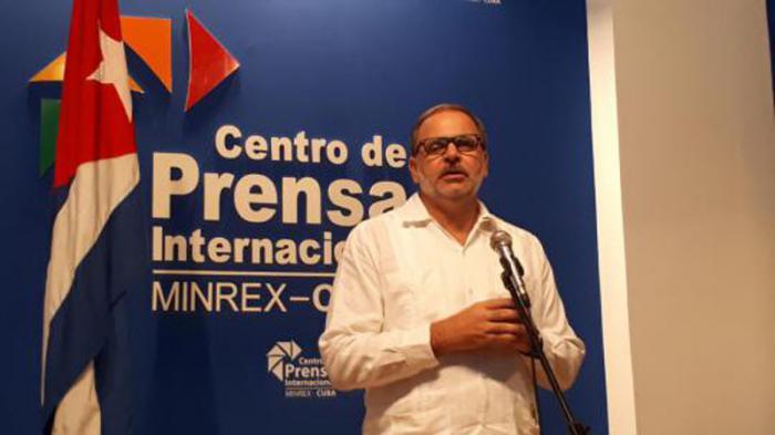 Eugenio Martínez Enríquez, director General de América Latina y el Caribe del Ministerio de Relaciones Exteriores de la República de Cuba