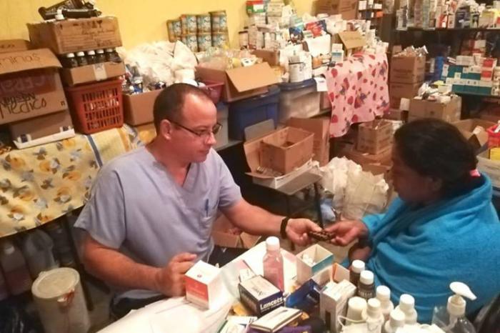 Brigada médica cubana en Escuintla, Guatemala