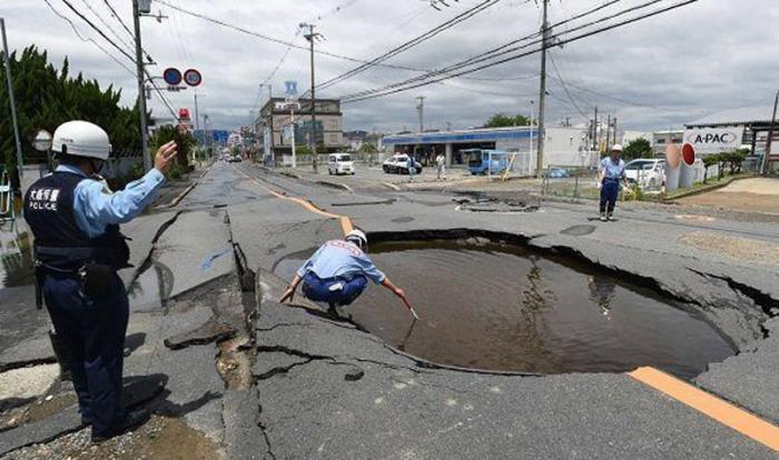 Suman cuatro, hasta ahora, los muertos por terremoto en Japón