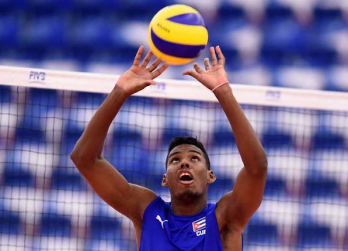 Voleibolistas cubanos en semifinales de Final Mundial de Retadores