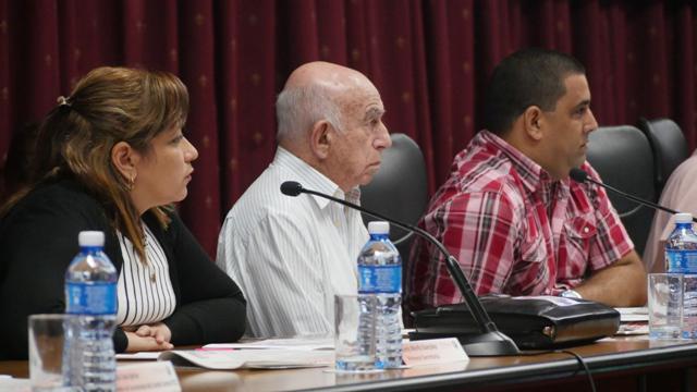 Machado Ventura participó en Pleno de la UJC