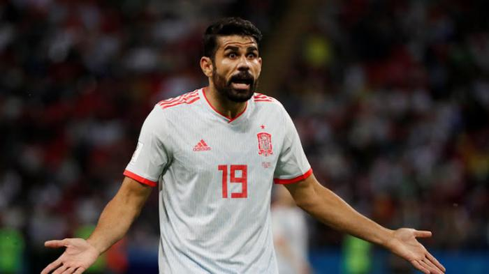 Diego Costa se reafirma como el delantero indiscutido de España, pues llegó a tres goles en el Mundial.  Foto: Reuters