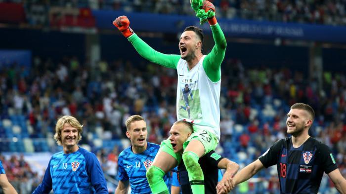 En duelo de porteros, Croacia elimina a Dinamarca y avanza a cuartos