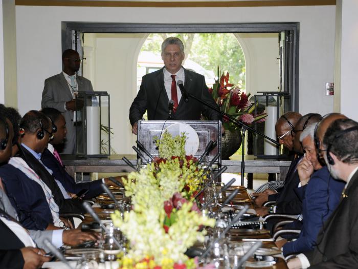 Discurso de Díaz-Canel en reunión de la CARICOM