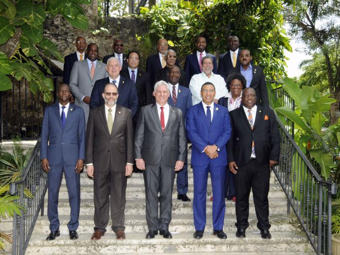 Presidente cubano ratifica compromiso irrenunciable con el Caribe (+ Fotos)