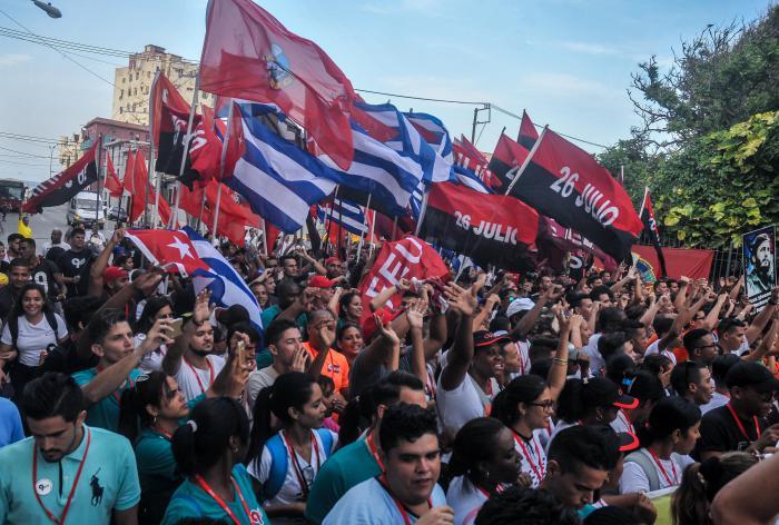 Universitarios cubanos reverencian la Historia en antesala de su IX Congreso (+ Fotos)