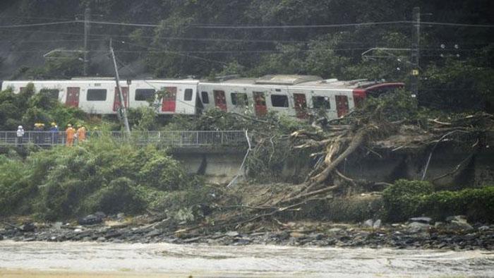 Cerca de 40 muertos en Japón por lluvias torrenciales