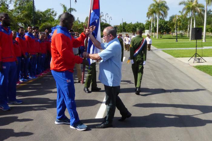 Abanderada delegación de Cuba a Centroamericanos de Barranquilla