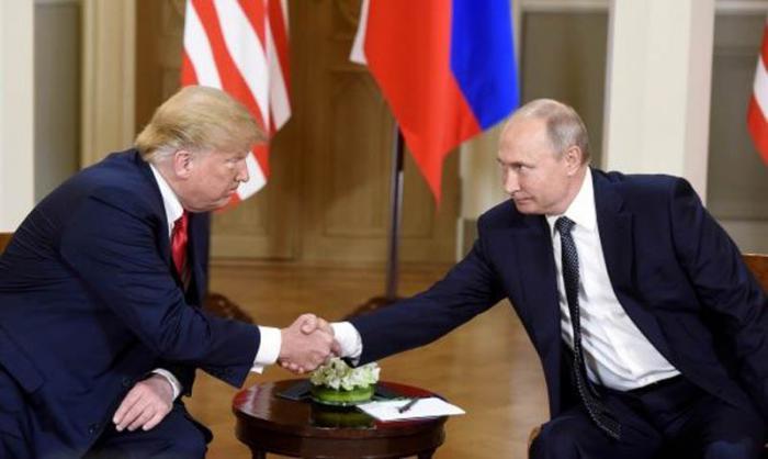 Tiene efecto en Helsinki encuentro bilateral entre Putin y Trump
