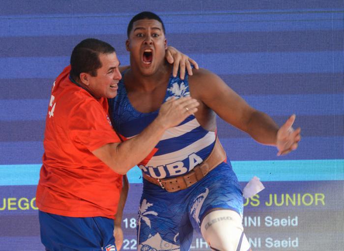 Lauret levanta oro y récord para Cuba en Barranquilla