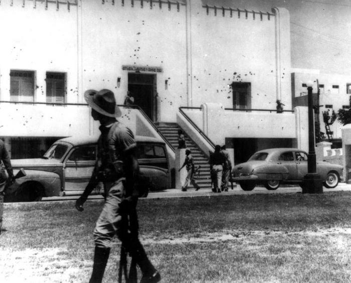 El cuartel Moncada se convirtió en sede del horror. foto: archivo de granma