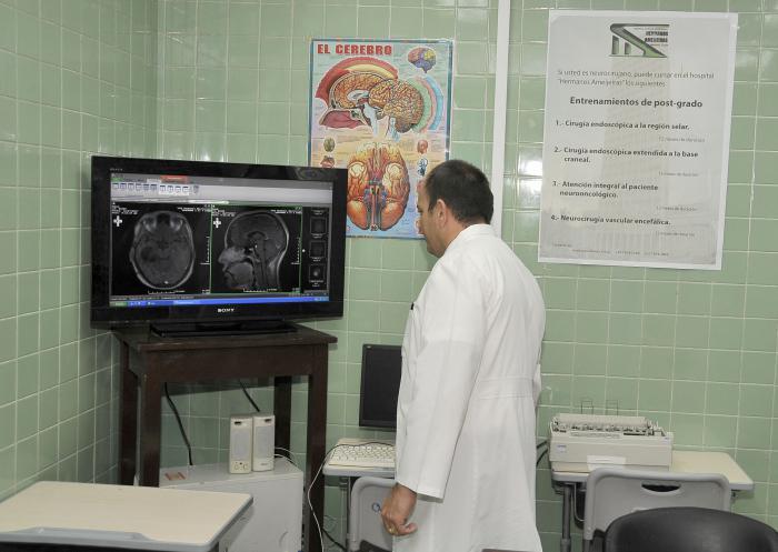 Hospital Clínico Quirúrgico Docente Hermanos Amejeiras sala de discusion de caso