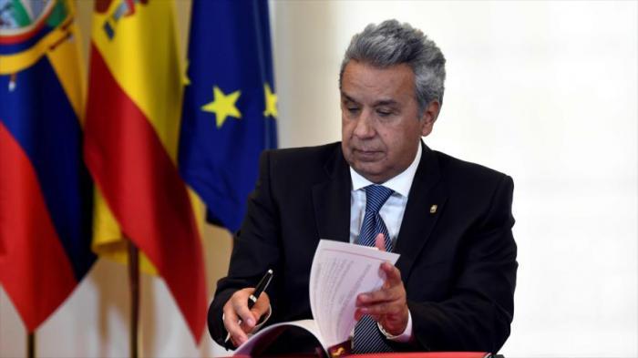 Presidente eucatoriano Lenín Moreno