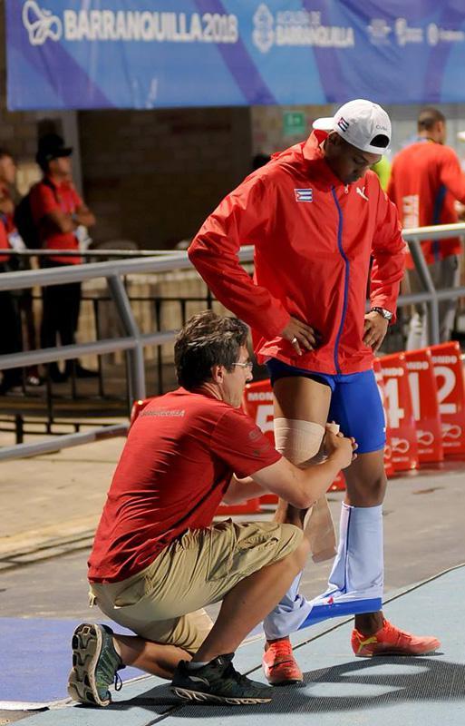Camagüeyano Echevarría, el gran ausente del salto largo en Juegos regionales
