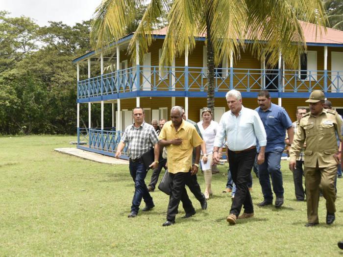 Casa natal de Fidel y Raúl, en Birán.