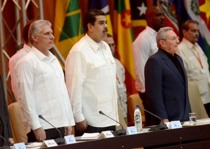 Cuba Expresses Solidarity and Absolute Support to President Maduro and the Bolivarian and Chavista Revolution