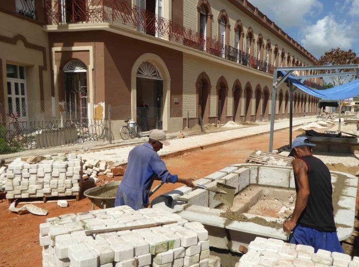 El centro histórico de la ciudad de Camagüey contará en breve con un bonito y funcional bulevar.