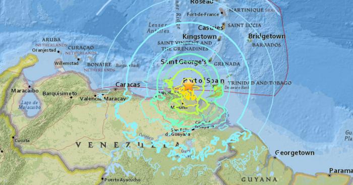 Fuerte sismo en Venezuela, sin víctimas hasta el momento