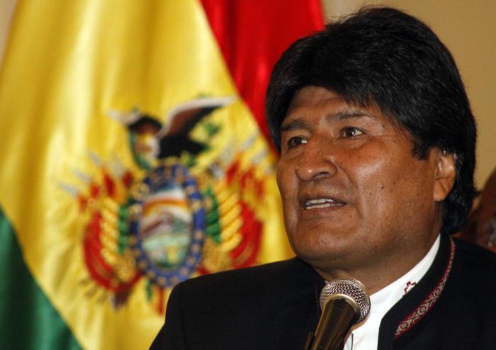 Arriba Evo Morales México