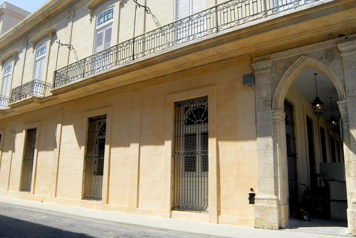 Escuela Primaria Rafael María de Mendive,Fachada Lateral de la Escuela Primaria Rafael María de Mendive