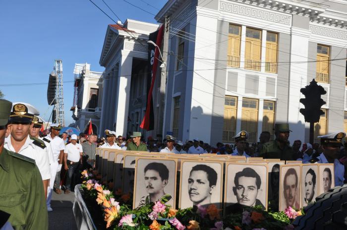 Conmemoran aniversario 61 del levantamiento del 5 de septiembre en Cienfuegos