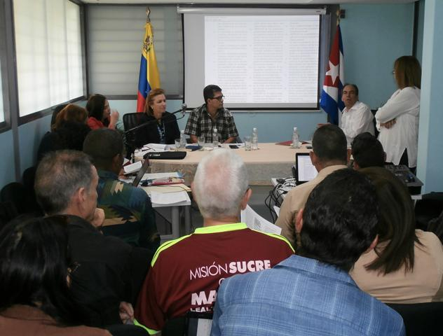 Nuestras misiones prevén 637 de estas reuniones de consulta en Venezuela. foto del autor