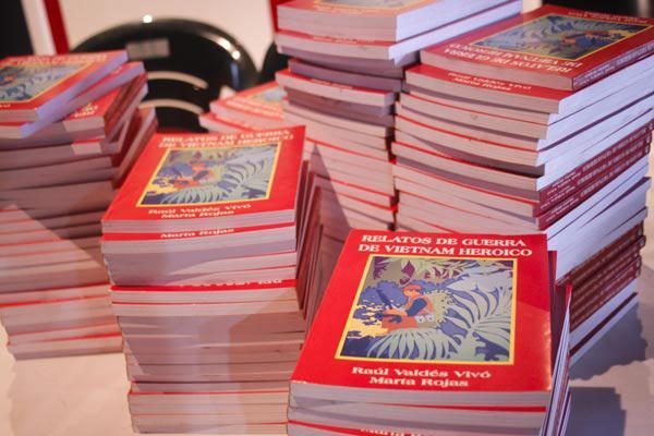 Presentan en La Habana textos que realzan relaciones de amistad Cuba-Vietnam