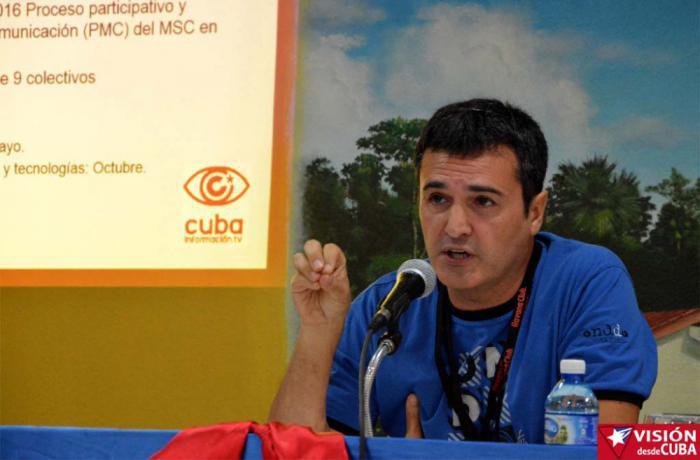 José Manzaneda, coordinador de Cubainformación.