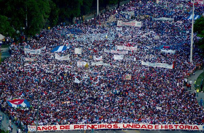 En Cuba la soberanía reside en el pueblo.