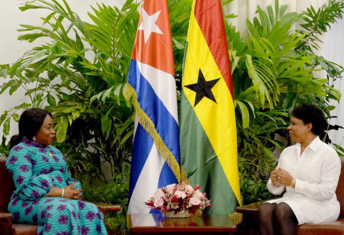 Inés María Chapman Meets with Ghana's Foreign Minister