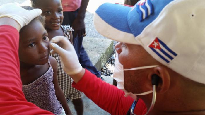 Nauru, una pequeña isla de la Micronesia, ha acogido también a brigadas médicas de nuestro país.