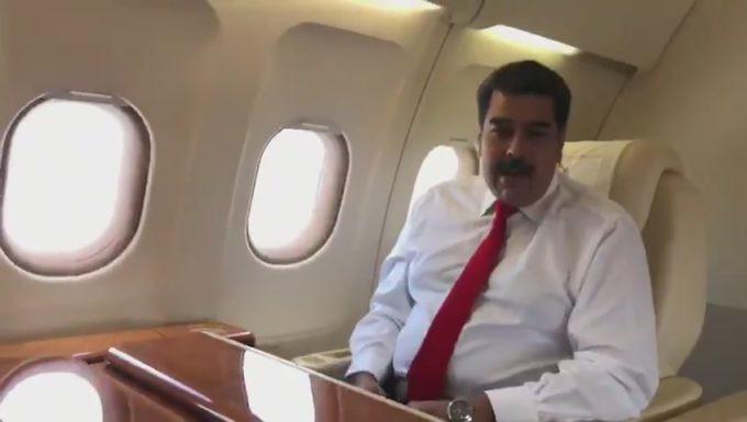 Vengo a defender la verdad de Venezuela, afirma Nicolás Maduro a su llegada a Nueva York