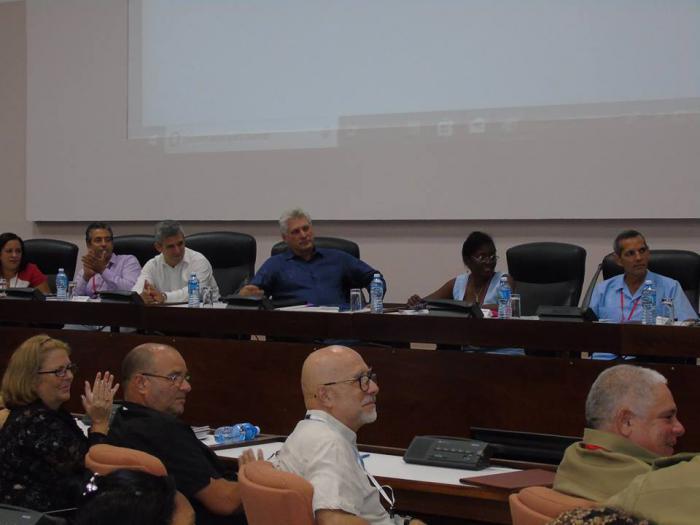 Díaz-Canel participe à la Conférence de l'Union d'Informaticiens de Cuba