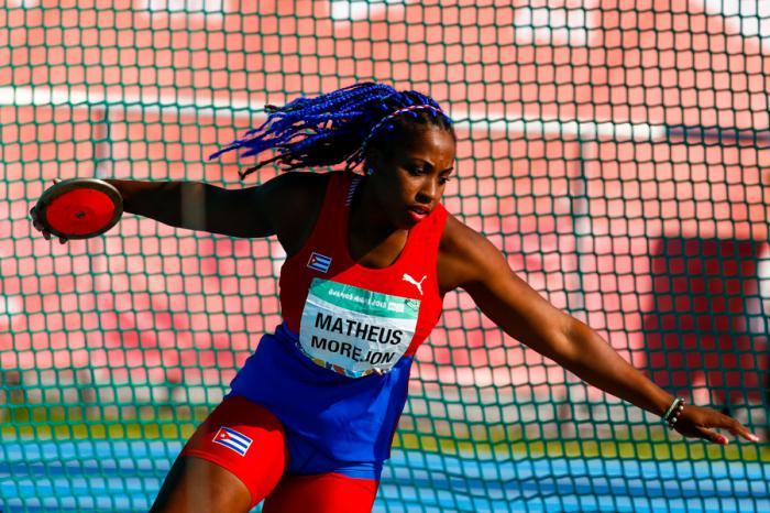 Disco de oro para cubana Matheus en Olimpiadas de la Juventud