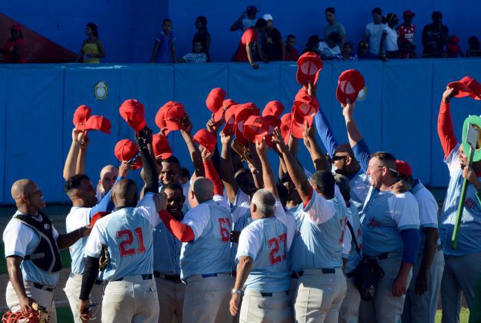Beisbol juego estrella veteranos Ciego 2018