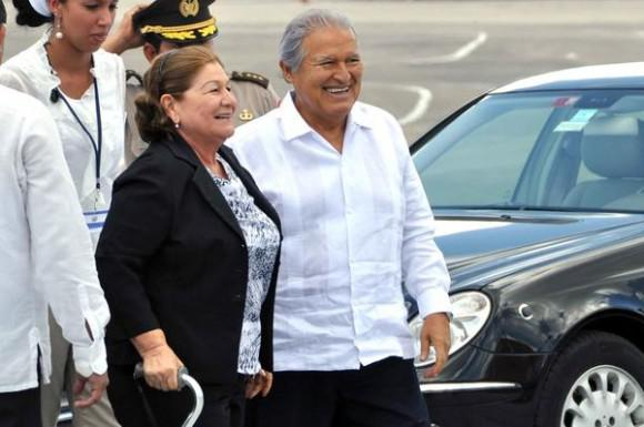 En Cuba Salvador Sánchez Cerén